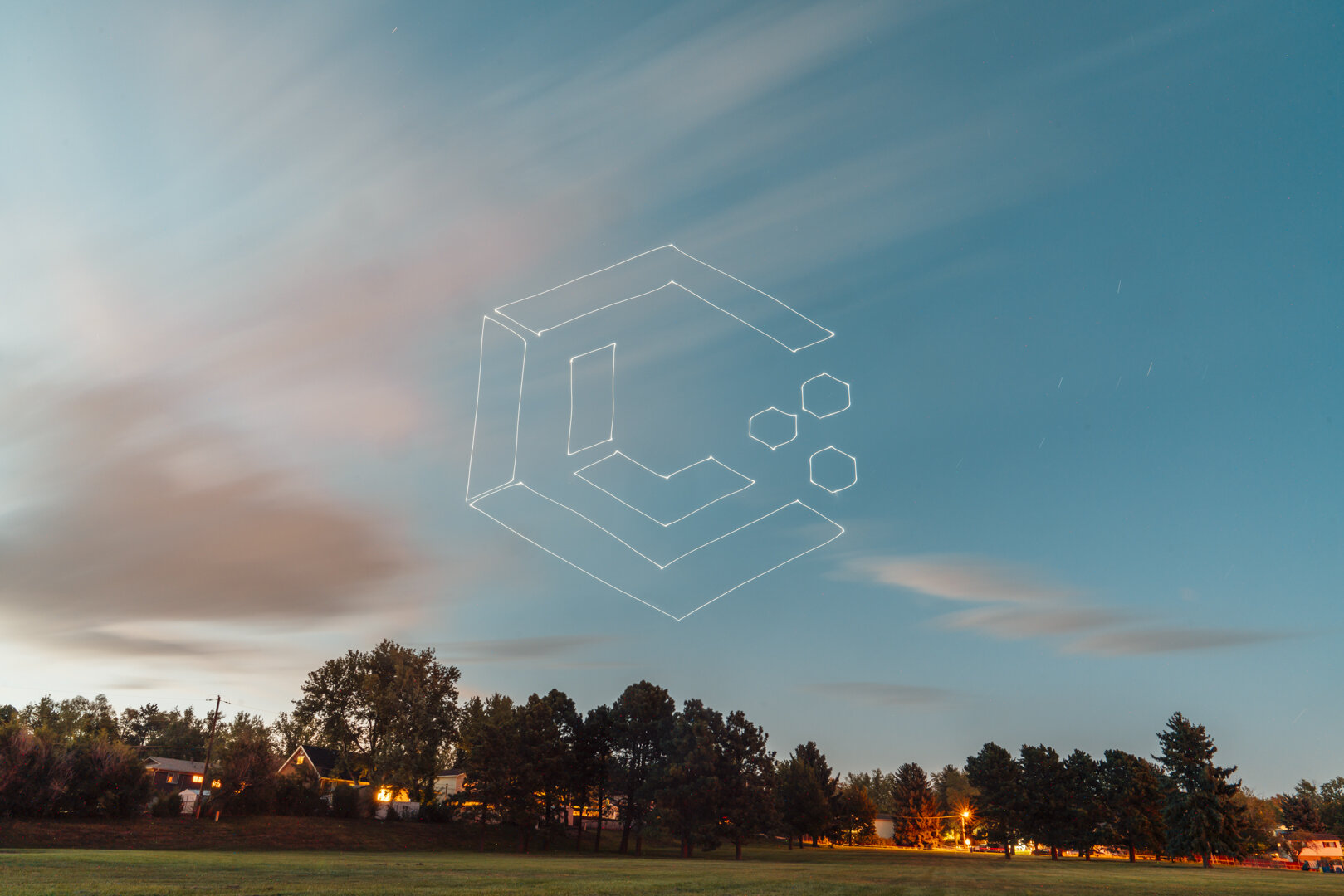lume cube drone light painting