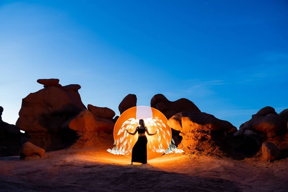 light painting combo tools