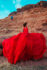red parachtue dress dre moab utah
